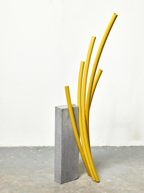 , 'Cut Off 2 (yellow),' 2017, Tyburn Gallery