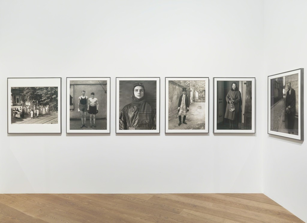 Installation view, 'August Sander. Men Without Masks,' Hauser & Wirth London, 18 May –28 July 2018