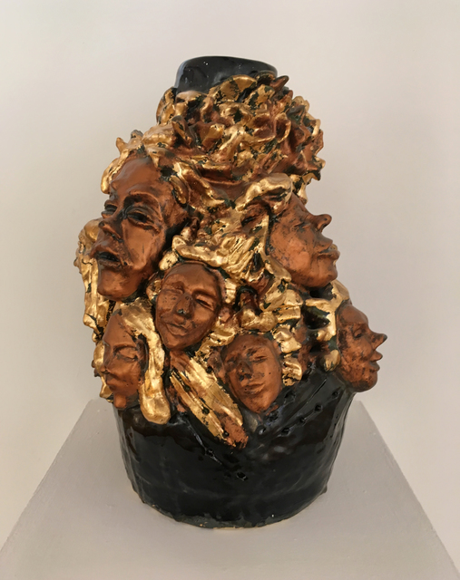 , 'Concerto in Bronze and Gold,' 2017, Carter Burden Gallery