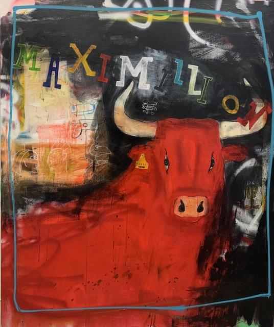 Michael Gorman, 'MaxiMILLION', 2021, Painting, Mixed media on canvas, Axiom Contemporary