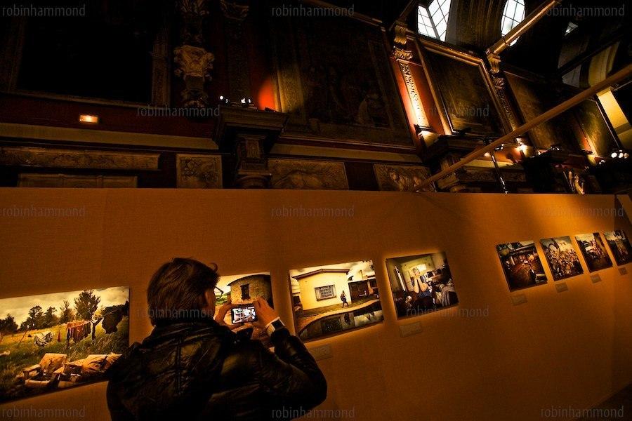 """Exhibition at """"Chapelle de l'Ecole des Beaux Arts"""" Paris 2012"""