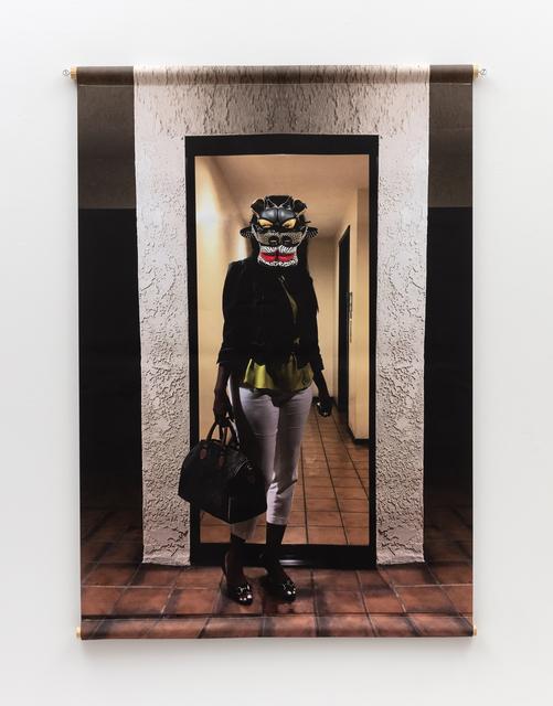 Willie Cole, 'Head over Heels (Street Dragon I)', 2019, Alexander and Bonin