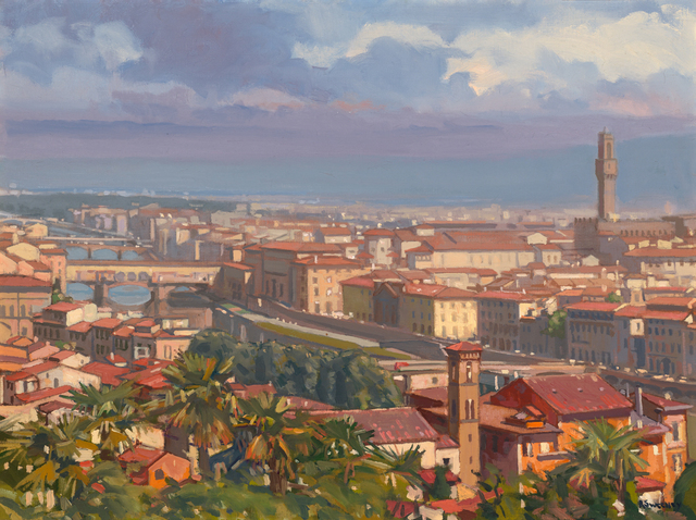 , 'Florence,' 2019, William Baczek Fine Arts