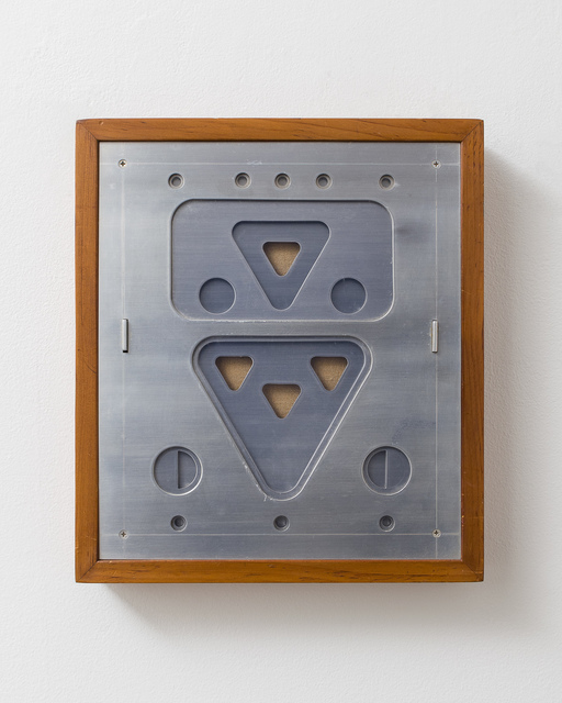 , 'Abstraction: Metal, Glass, and Linen,' 1973, Locks Gallery