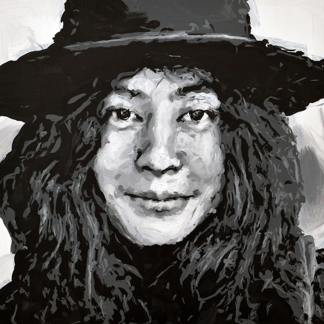, 'Yoko Ono Robot Painting, Painting time: 17:24:45 Stroke count: 7,048 20-22 October 2019,' 2019, Ben Brown Fine Arts