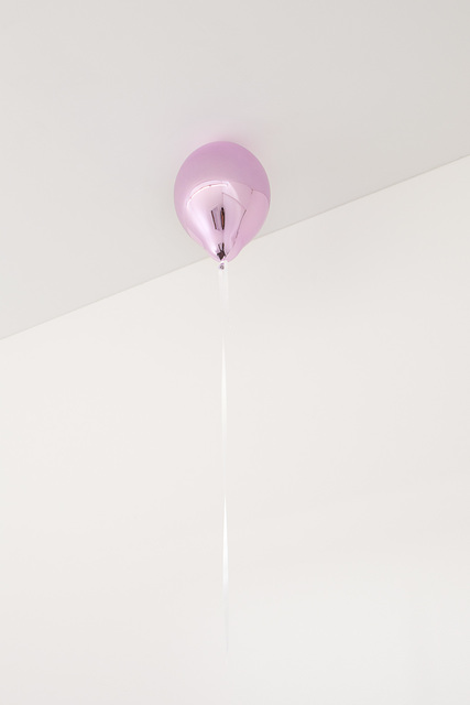 , 'Purple Mirror Balloon (light),' 2017, 303 Gallery