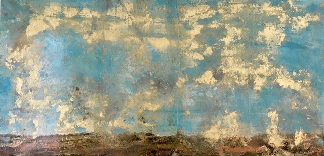Michelle Gagliano, 'Scraped Landscape', 2019, Les Yeux du Monde Gallery