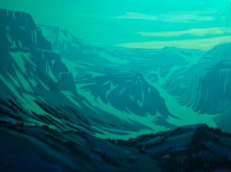 , 'Twilight Over Beaver Mines Formatting,' 2019, Gibson Fine Art