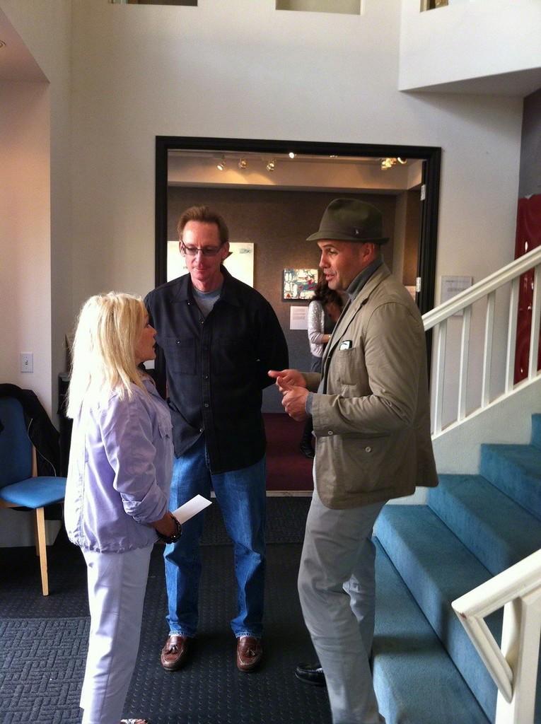 Sharon and Doug Erickson with Billy Zane