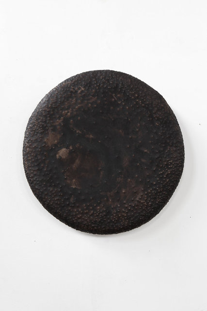, 'Good Vibe Gong (black patina),' 2016, Wentrup