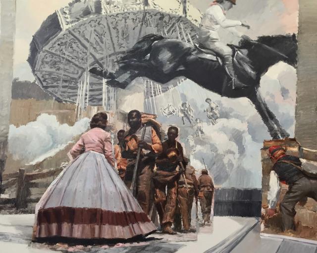 , 'Thematic Park #3,' 2017, GE Galería