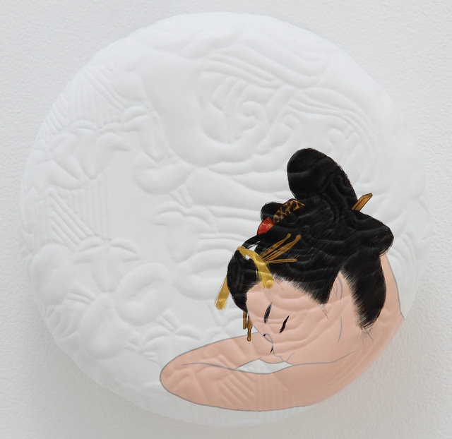 , 'shitagie ni kiera nami,' 2012, Mizuma Art Gallery
