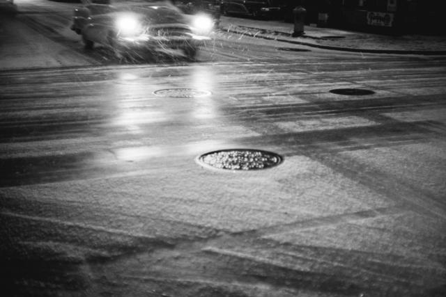 , 'Car in snowfall, New York, USA,' 1953, David Hill Gallery