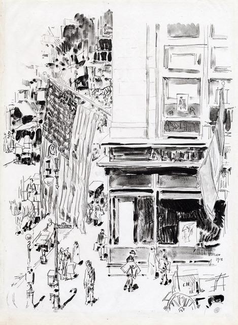 Childe Hassam, 'Lafayette Street.', 1918, The Old Print Shop, Inc.