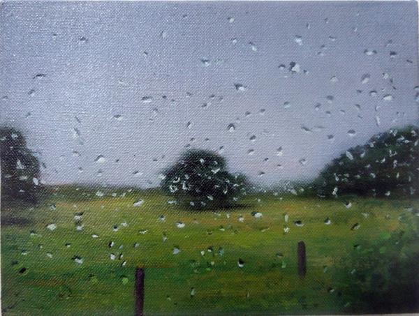 , 'L.I. Rainy Day,' 2014, Nohra Haime Gallery