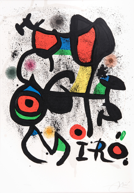 Joan Miró, 'Bronzes Exhibition, Hayward Gallery, London', 1972, Odon Wagner Gallery