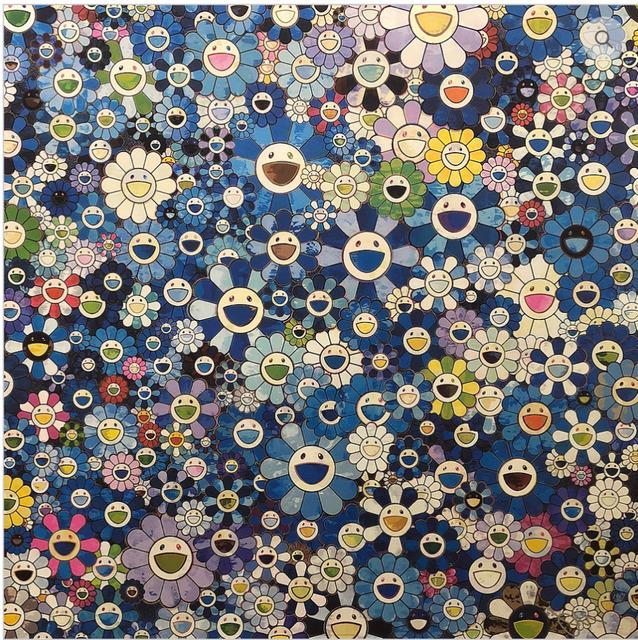 Takashi Murakami, 'Shangri-la Blue', 2016, MSP Modern