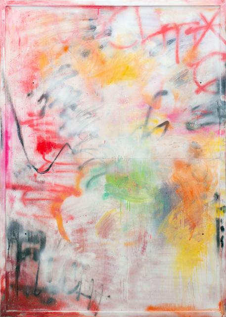 Thierry Furger, 'Fluechtig 2', 2020, Painting, Acrylic and acid on aluminum, KOLLY GALLERY