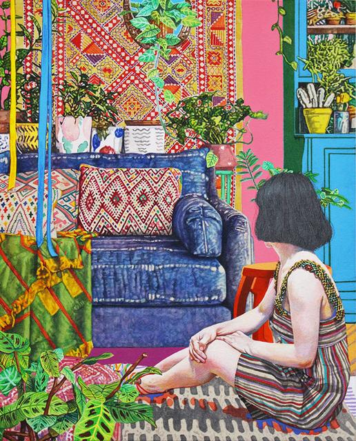 , 'Ethnic Decor Living Room,' 2018, GALLERY MoMo