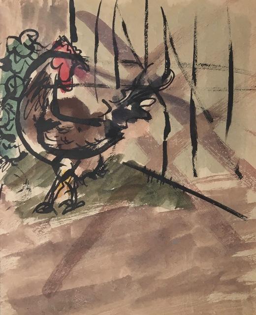 , 'Chicken,' Early 20th Century, Bakker Gallery
