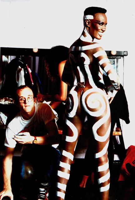 Tseng Kwong Chi, 'Grace Jones &  Keith Haring', 1986-printed 2005, Heather James Fine Art: Benefit Auction 2018