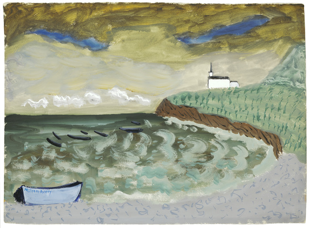 Milton Avery, 'Church by the Sea', 1939, ARS/Art Resource