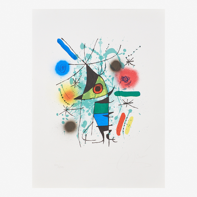 Joan Miró, 'Plate from Lithographs I', 1972, Rago