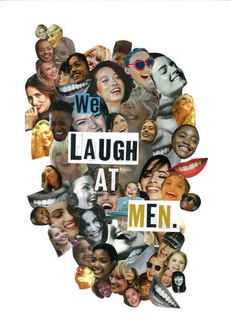 , 'We Laugh At Men,' 2017, The Untitled Space