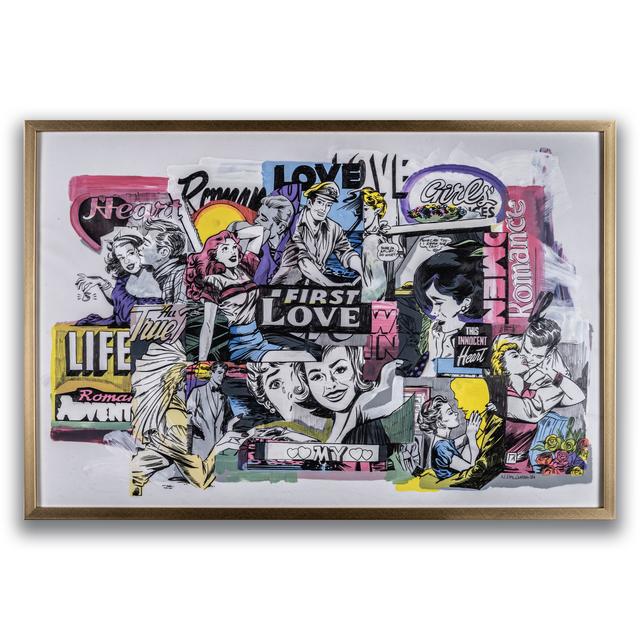 Nina Palomba, 'Love Life', 2021, Painting, Mixed Media, EWKUKS