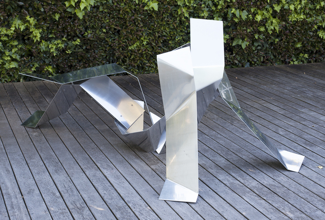 , 'Reclining (Origami series),' 2015, Johans Borman Fine Art