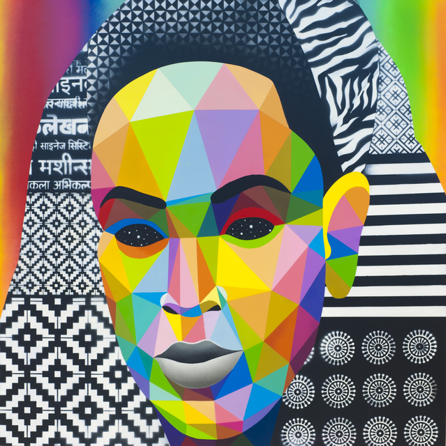 , ' Mayan Beyonce,' 2018, Mirus Gallery