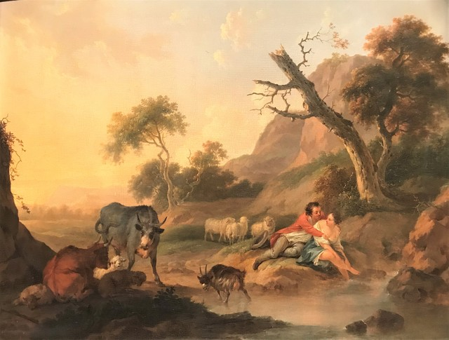 Jacob Xavery, 'Herdsmen with Cattle in a Landscape', ca. 1750, Painting, Oil on panel, Sebastian Deya Gallery
