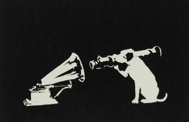Banksy, 'His Master's Voice', 2003, Taglialatella Galleries