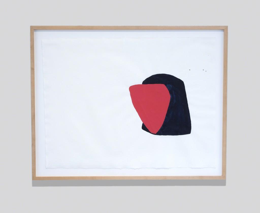 Joel Shapiro, Untitled, 1980. Gouache on paper. Courtesy of the artist. © 2018 Joel Shapiro/Artists Rights Society (ARS), New York