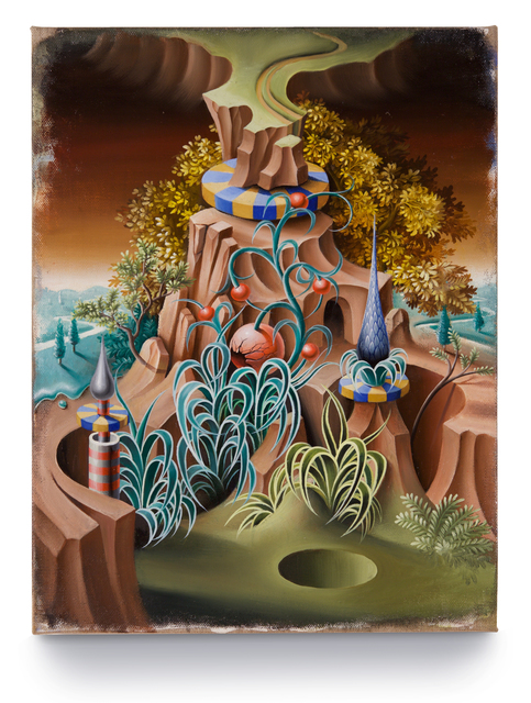 , 'The Ecclesiastical Garden and the Sink Hole,' 2016, ARC ONE Gallery
