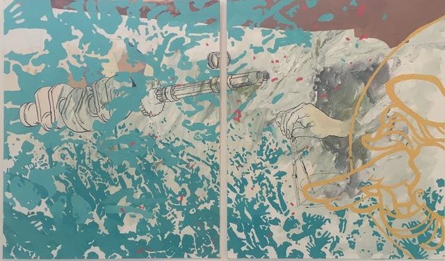 ", '""Enfolding"" study,' 2016, Ro2 Art"