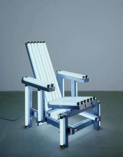 , 'Blue Electric Chair,' 2004, Templon