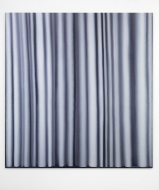 Gerhard Richter, 'Vorhang', 2012, Print, Digital inkjet print on white paper, behind acrylic glass, mounted on Alu-Dibond-plate, Sies + Höke