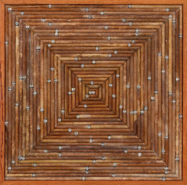 , 'Vanitas - notações ritmadas em campo aleatório,' 2015, Galeria Nara Roesler