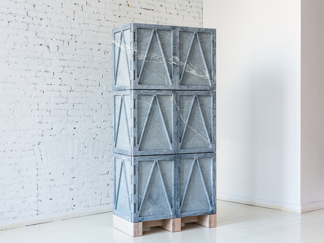 , 'Relief Stone Cabinet - Six Door,' 2016, Fort Standard