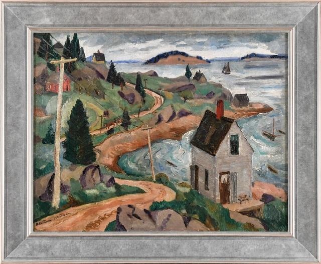 Bertram Hartman, 'Shoreline at Stonington on Deer Isle, Maine', 1927, Kapoor Galleries / Graham Shay 1857