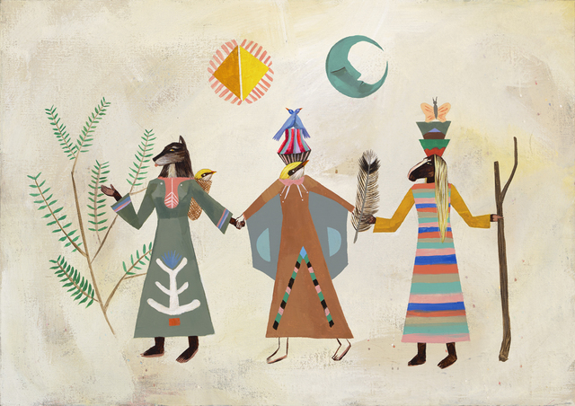 Deedee Cheriel, 'We Are The Same Spirit. The Illusion of Separation Sparks Fault Finding in Another.', 2018, KP Projects