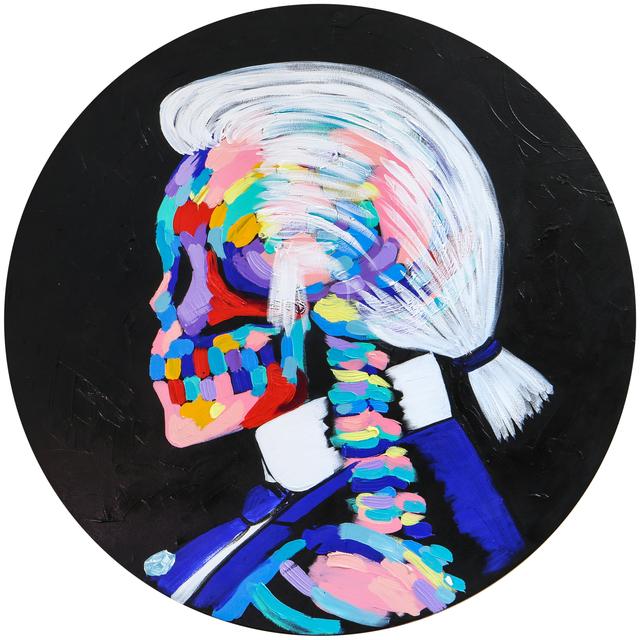 , 'Karl Lagerfeld,' 2017, Maddox Gallery