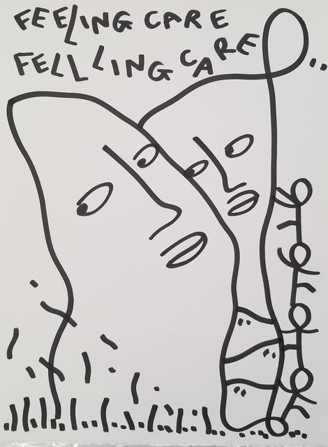 Shantell Martin, 'FEELING CARE/ FELLLING CARE', 2019, David B. Smith Gallery