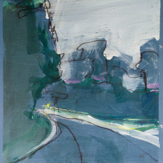 , 'The road to nowhere III,' 2009, Candida Stevens Gallery