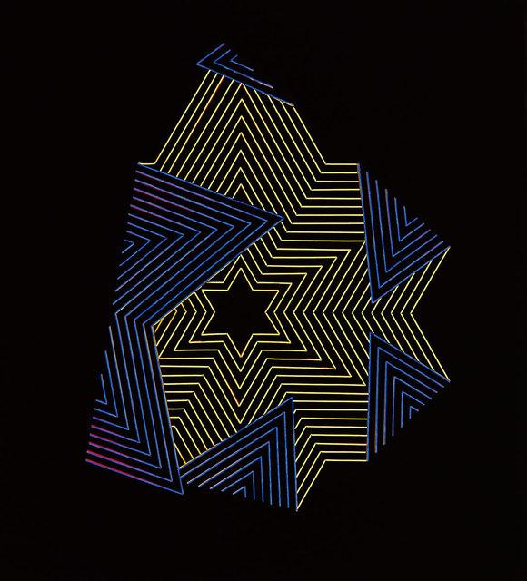 , 'Fold XII,' 2017, Gormleys Fine Art