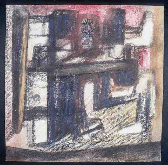 , 'Interior,' 1980, Tasende Gallery