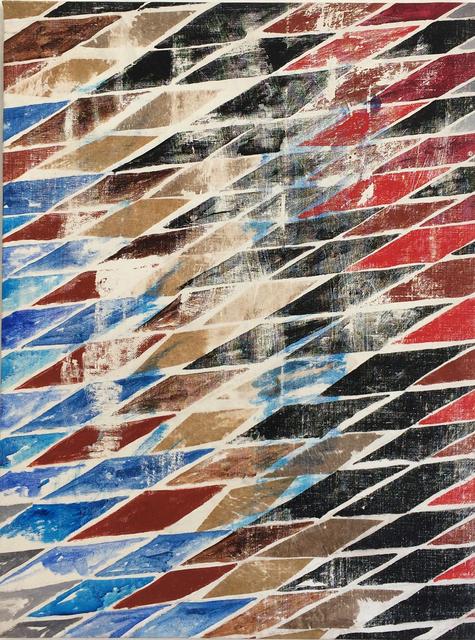 , 'Alesa (blue),' 1983, Federico Luger