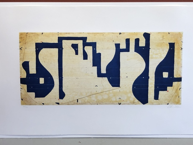 """Caio Fonseca, '""""Seven string etching""""', 2001, Anders Wahlstedt Fine Art"""