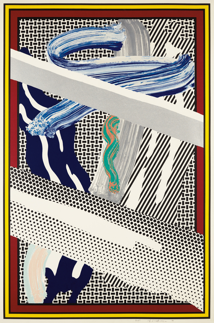 """Roy Lichtenstein, 'Imperfect 44 3/4"""" x 103""""', 1988, Phillips"""